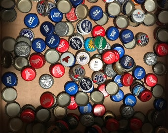 500 Beer Bottle Caps Some Dented