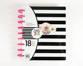 Create 365, 18 Month Classic Happy Planner / 2017 Planner / Me and My Big Ideas / Bullet Journal / Personalized Planner
