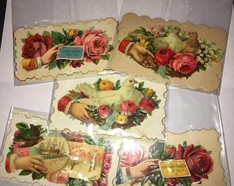 Ten Victorian Calling Cards  -#43