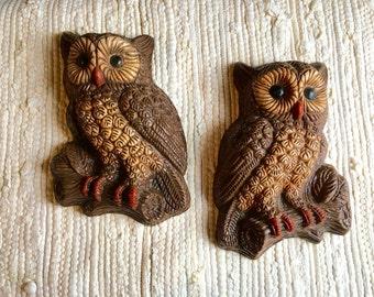 Vintage Owl Wall Decor