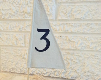Set of 5 Sailboat Table Numbers, Centerpiece Wedding Decor, Reception, Sailing, boat, Nautical, Coastal, Nantucket, Boating, Cape Cod, Beach