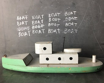 charming wood boat