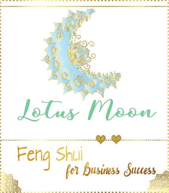 Mandala logo feng shui blue gold yoga logocoach by for Cuadros mandalas feng shui decoracion mandalas