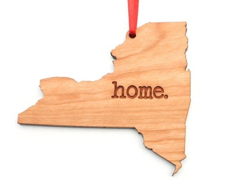 New York home. Christmas Ornament - NY New York Ornament - Home Christmas Ornament