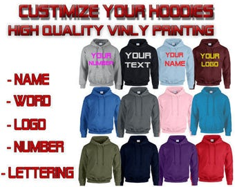 Customize couple hoodies  customize the way you like  we customize all Sweatshirt Couple  Hoodie High Quality
