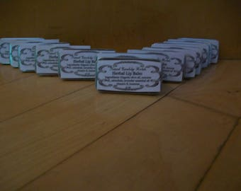 Calendula Herbal Lip Balms - Two  .5 oz tins
