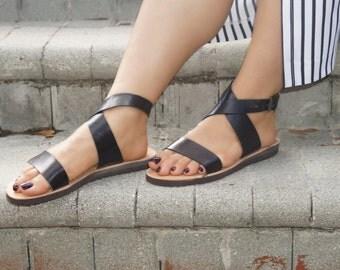 LOLITA. Handmade Leather Sandals /Women's Shoes /Comfort Birk Sole Sandal /Boho Chic Shoes. Sizes 6-11