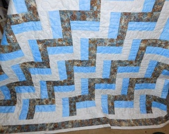 Hand made quilt. Queen size. 86 x 100