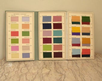 1930's textile swatch book - on hold for Cheryl