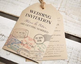 Travel Theme Wedding Etsy