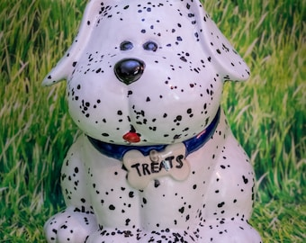 Dalmation Treat Jar