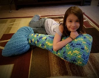 Mermaid Tail Body Pillow