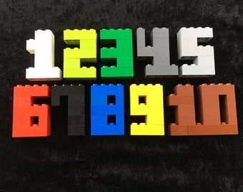 Lego door numbers