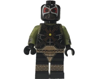 LEGO minifigures Custom -  Bane  Made with Original LEGO Parts