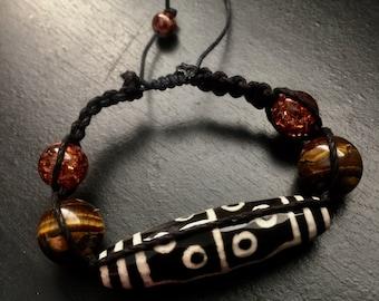 Tiger Eye - Voodoo - Bracelet - Christmas Gift- Birthday Gift - Anniversary Gift - Friendship Bracelet