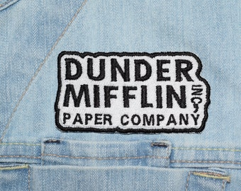 Paper Company Iron-on Embroidered Patch