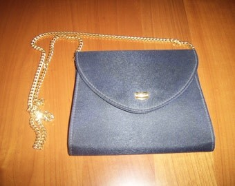 Vintage fabric handbag years 70