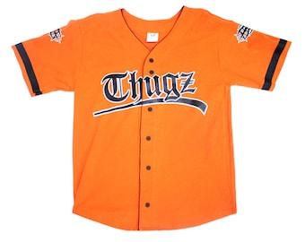 WWF Taz / Tazz 'Thugz' Vintage Baseball Jersey