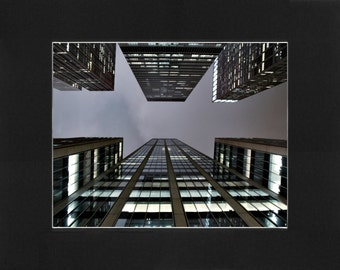 """Custom Matted Print 0103. """"Local NYC Tourist"""" - Collectable Photographic Artwork. (11"""" x 14"""")"""