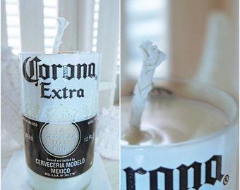 Soy Wax 8oz. Corona Extra Beer Bottle Candle 100% Vegan
