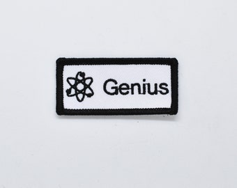 GENIUS iron on patch