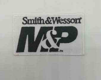 Smith and Wesson M&P patch