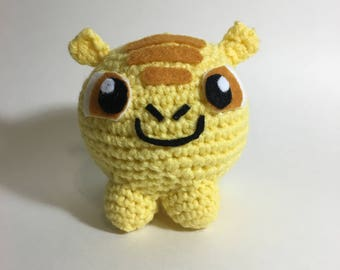 Facebook Sticker: Hatch Crochet Plushie