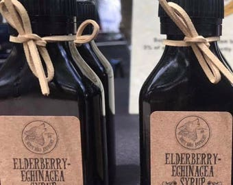 Elderberry-Echinacea Syrup- 100ml bottle