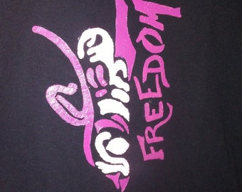 Freedom OC W & Vibrant Pink T-Shirt
