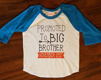 Big Brother/Sister Custom Made Tees