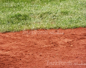 Field Closeup at Fenway Park, Boston MA, Boston Red Sox; Bedroom; Playroom; Game room; living room; Sports photography
