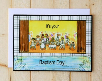 Baptism Greeting Card - Baptism Day!