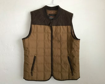 Vintage Style Quilted Vest