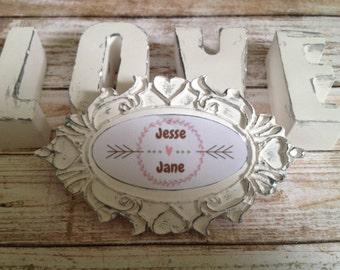 Scented stone wedding/bridal shower magnet  favors