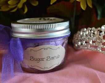 Sugar Scrub 4 oz Wedding Favors (Bulk sets of 10)