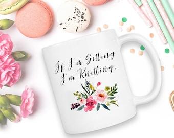 Knitting, Knitting Mug, Gift For Knitter, Extreme Knitter, Coffee Mug, Knitter Gift, Knitters Gift, Knitter Mug, Crochet Gift, knit, Mugs