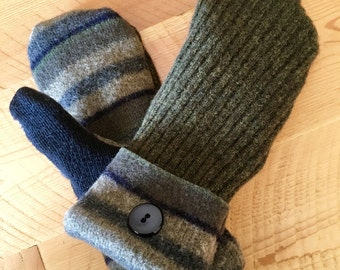 Wool Sweater Mittens (S)