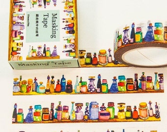 Cute Bottles Washi Tape