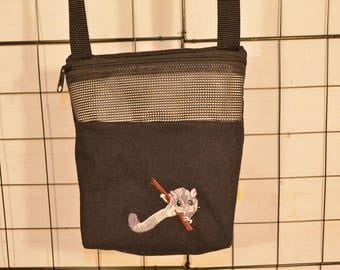 Sugar Glider Embroidery Bonding Pouch, Bonding Carry Bag, Ready to Ship!