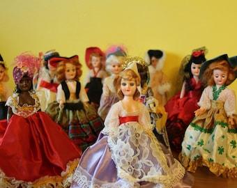 Vintage ARCO Dolls of the World - circa 1960's