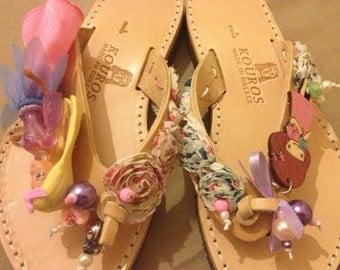 girl's sandals!