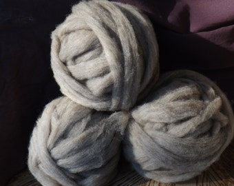 100% Shetland Wool Roving