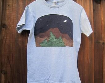 Mountain Night Scene Shirt