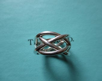 Genuine vintage Tiffany & Co ring - sterling silver