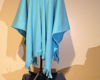 Fleece wrap / poncho
