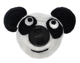 Camera Lens Buddy -  Photography Prop - camera accessories - panda