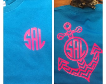 Anchor monogram shirt