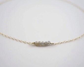 Tiny 5 Beaded Bracelet, Stacking Bracelet, Healing Stone Bracelet, Simple Bracelet, Dainty Bracelet, Layering Bracelet