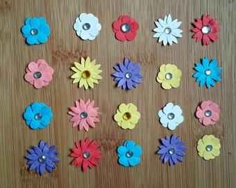 Tiny 3d flowers