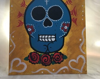 Day of the dead painting